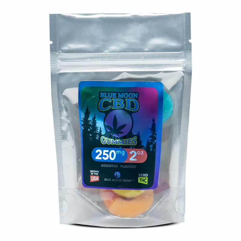 CBD Blue Moon Hemp Gummies Review