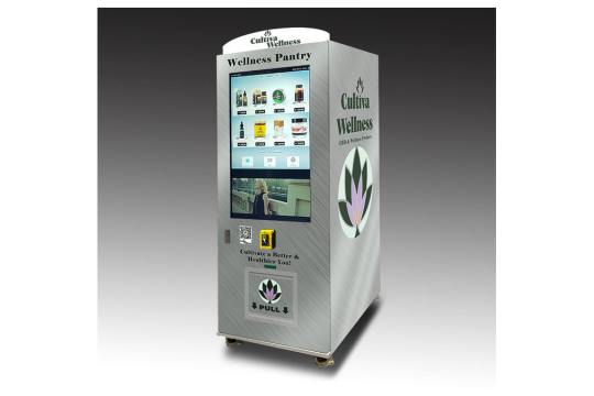 CBD Vending Machine That Allows You To Buy CBD Products with Bitcoin