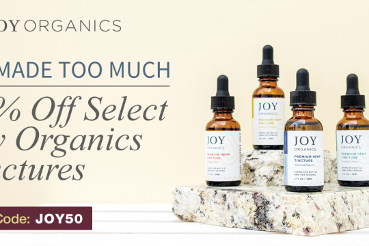 Discover Your Joy with Joy Organics' Premium CBD Products